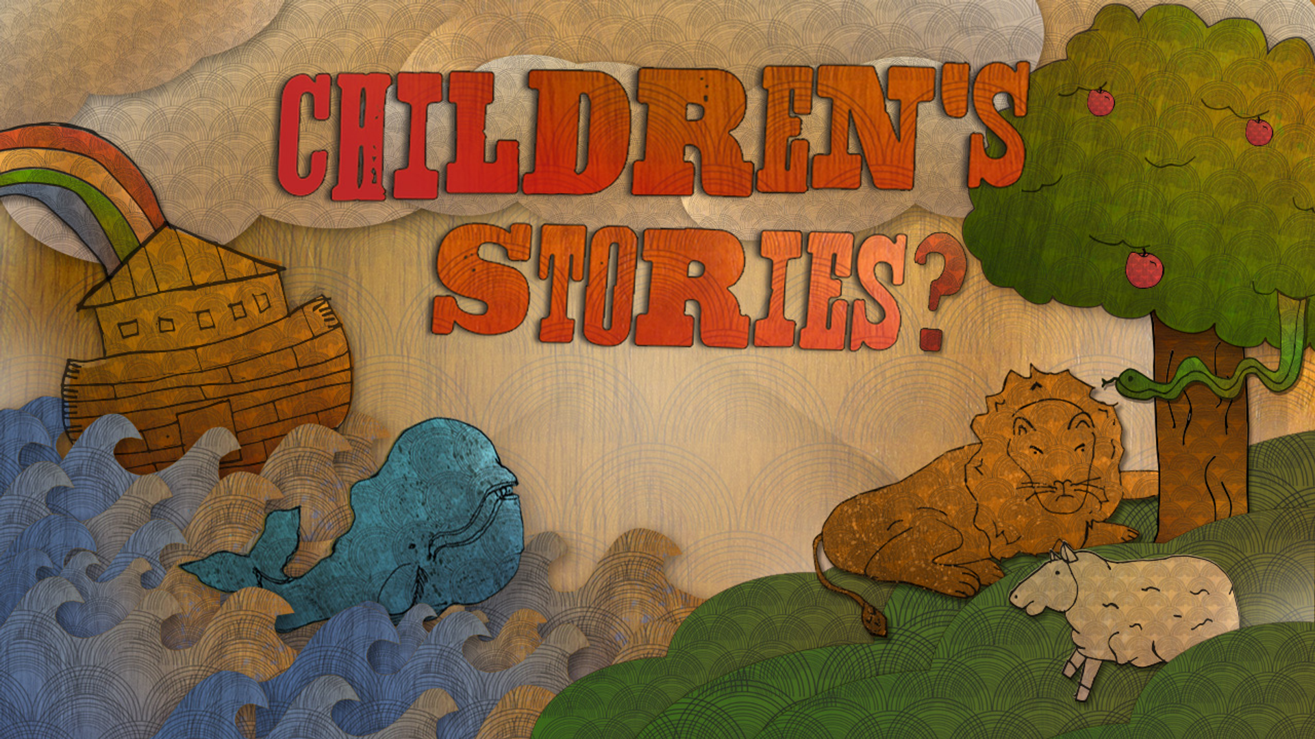 """Join Us This Sunday As We Kick Off Our New Series, """"Children's Stories?"""" Hero Image"""