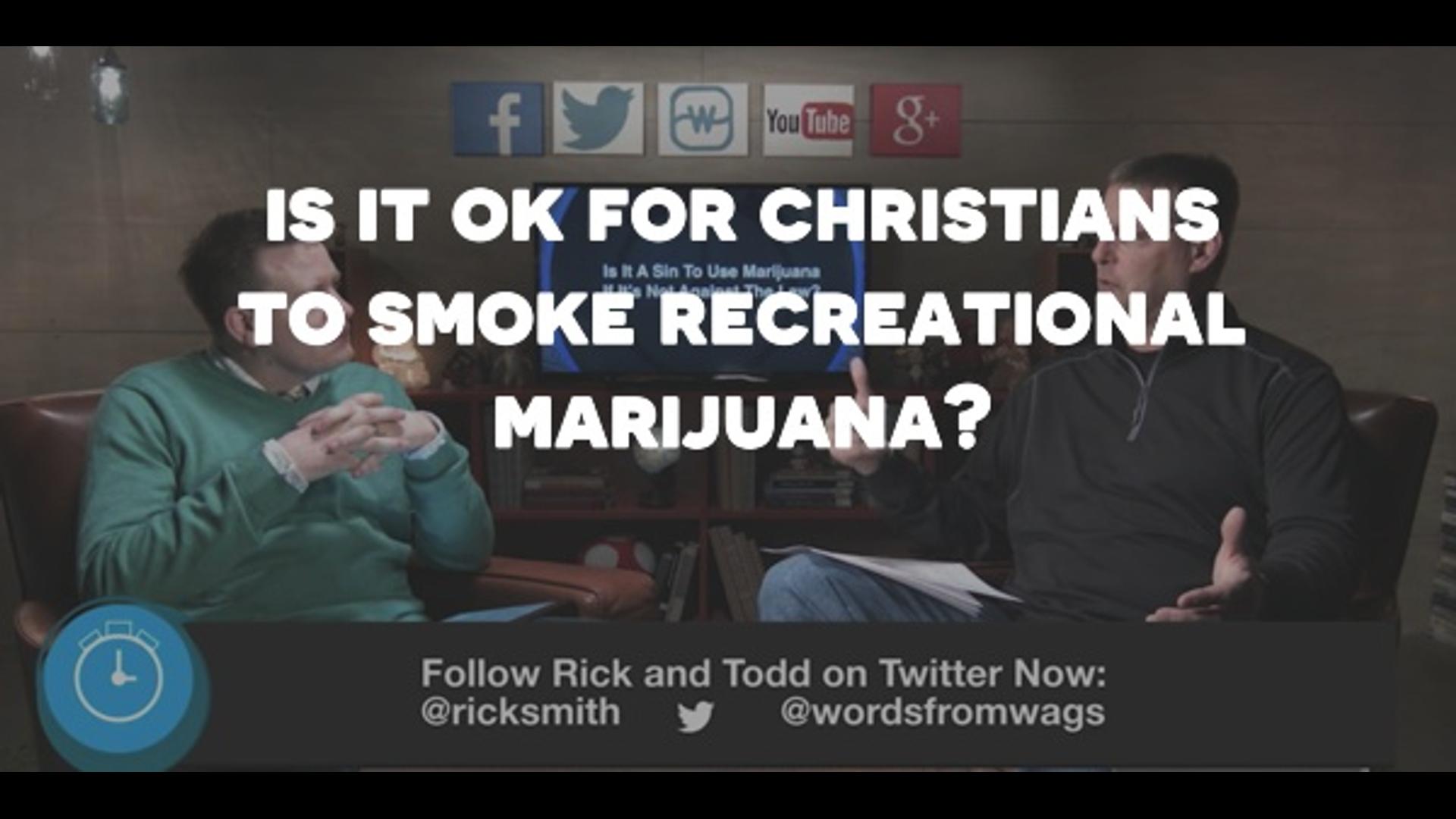 Is It A Sin To Smoke Recreational Marijuana? Hero Image