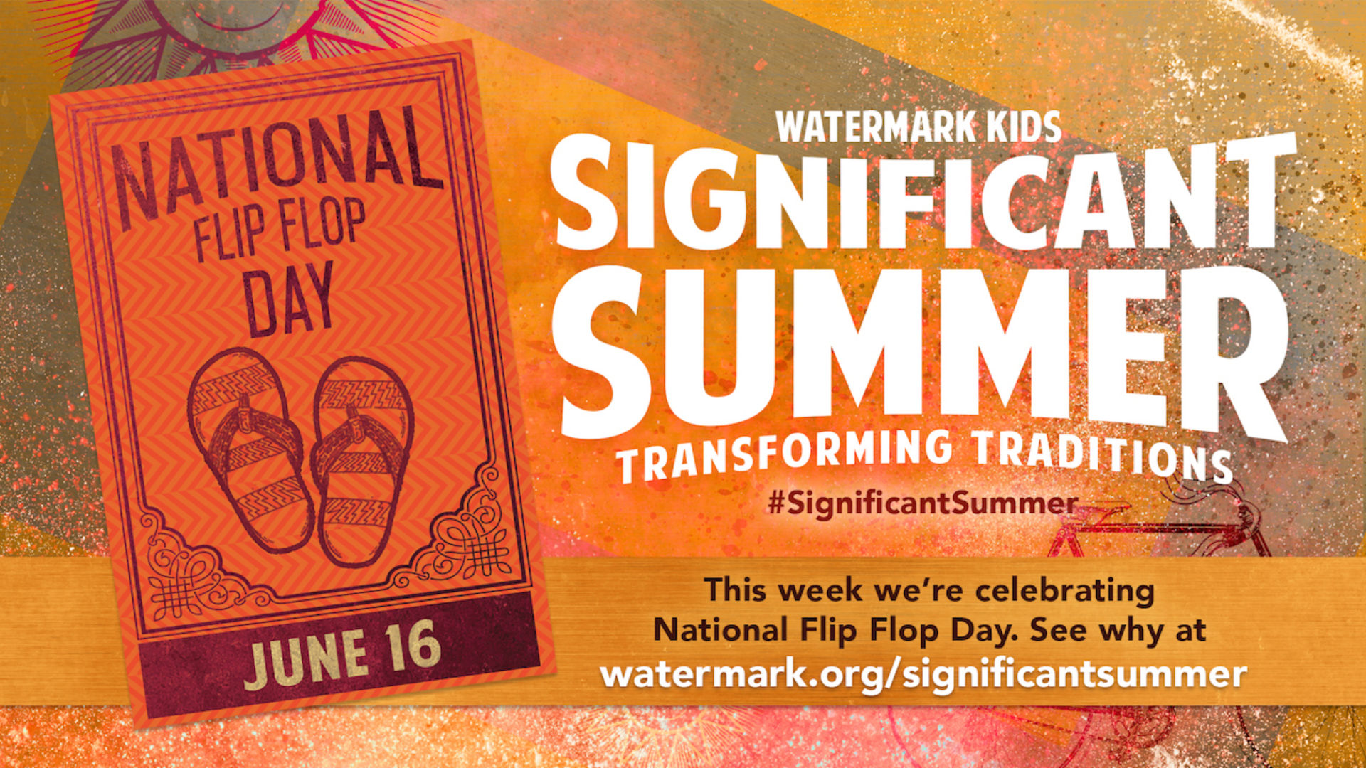 Significant Summer Week 2: National Flip Flop Day Hero Image