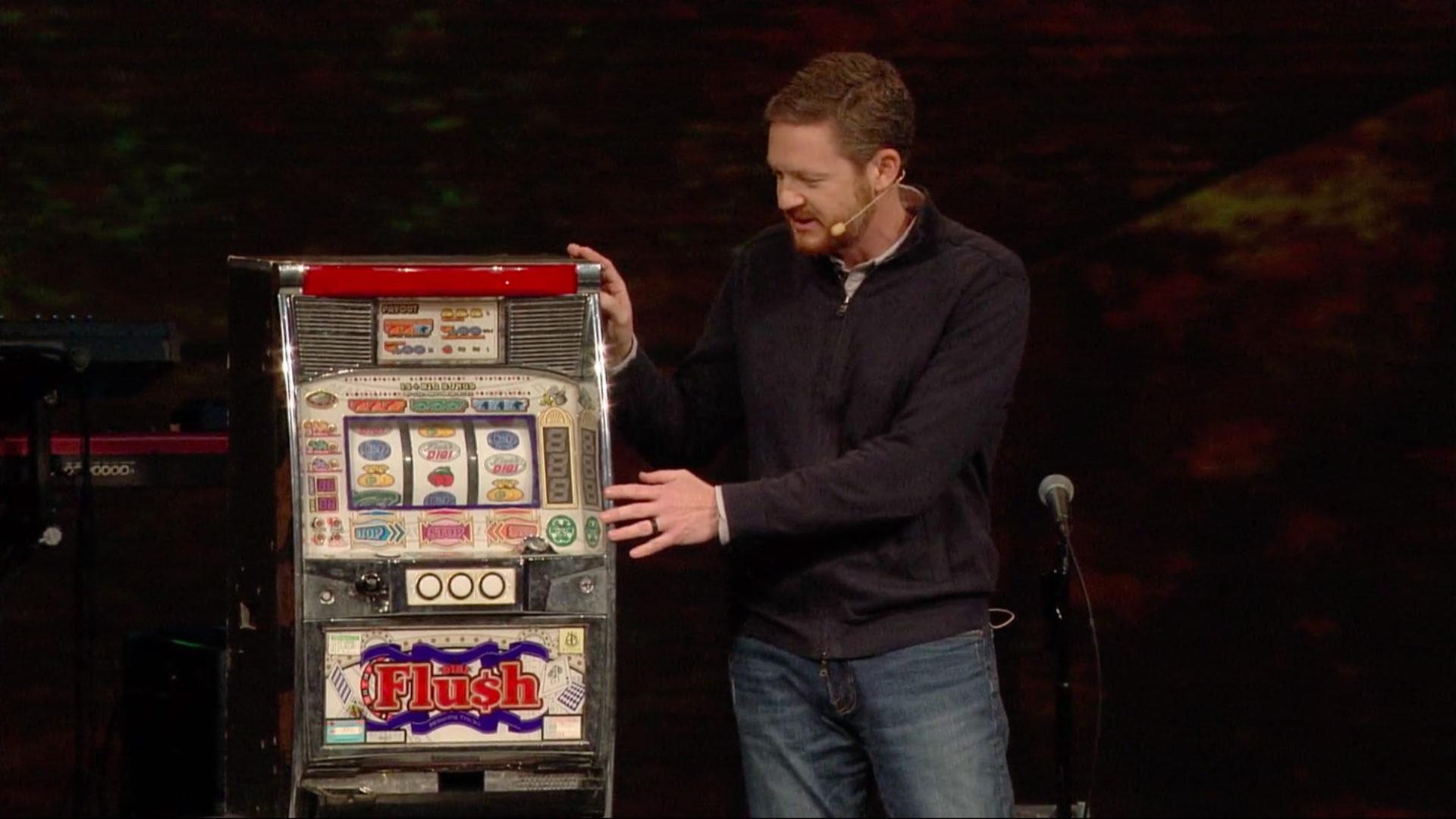 Selfishness - Life's Slot Machine: Sermon Guide Hero Image