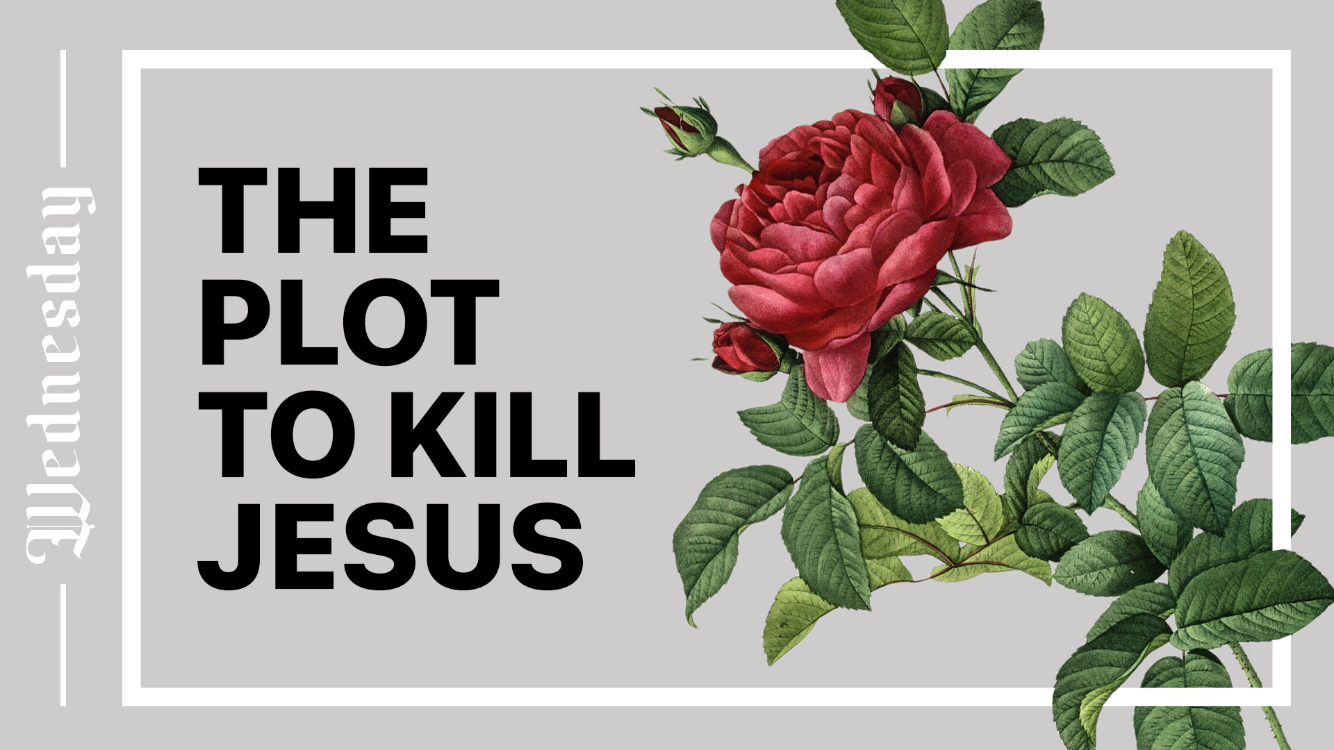 The Plot to Kill Jesus Hero Image