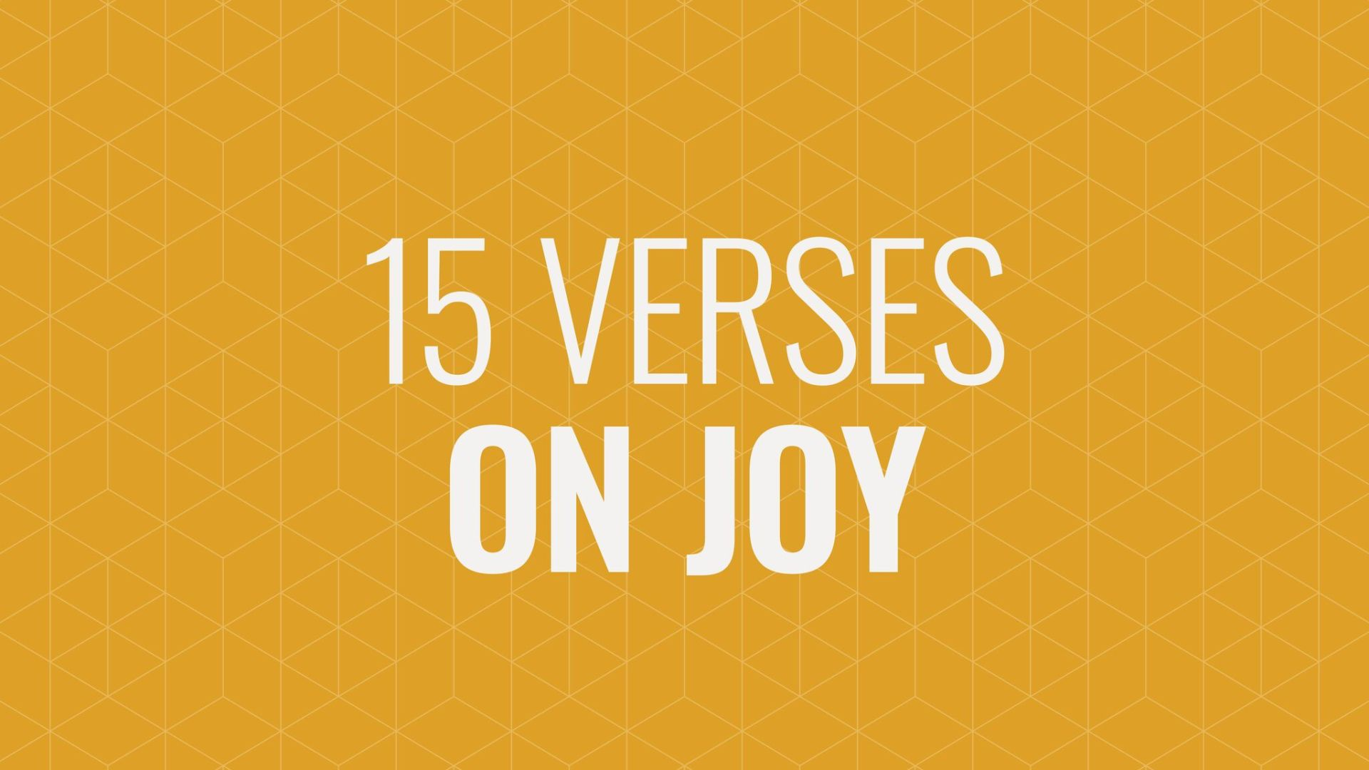 Rejoicing Always: 15 Verses to Help Hero Image