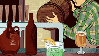 Threes Brewing in The New Yorker