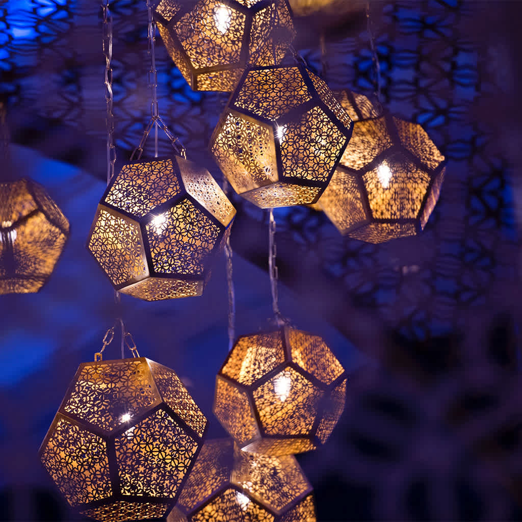 Light details of Four Seasons Bahrain Bay Spa