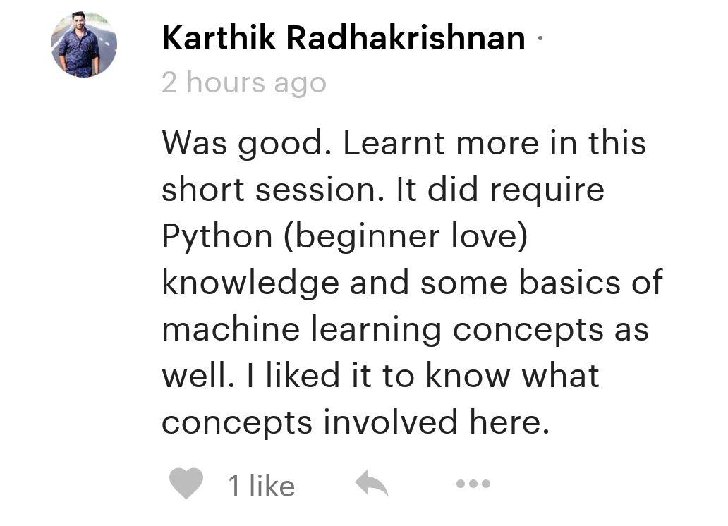 Python Youth Testimonial