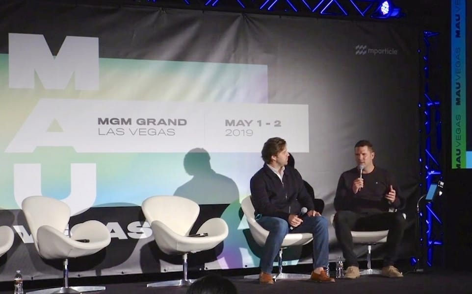 Baxter Box and Michael Jaconi on stage at MAU 2019