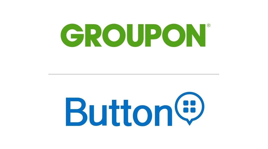 Groupon + Button Logos