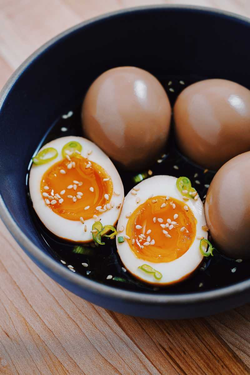 Soy Sauce Eggs