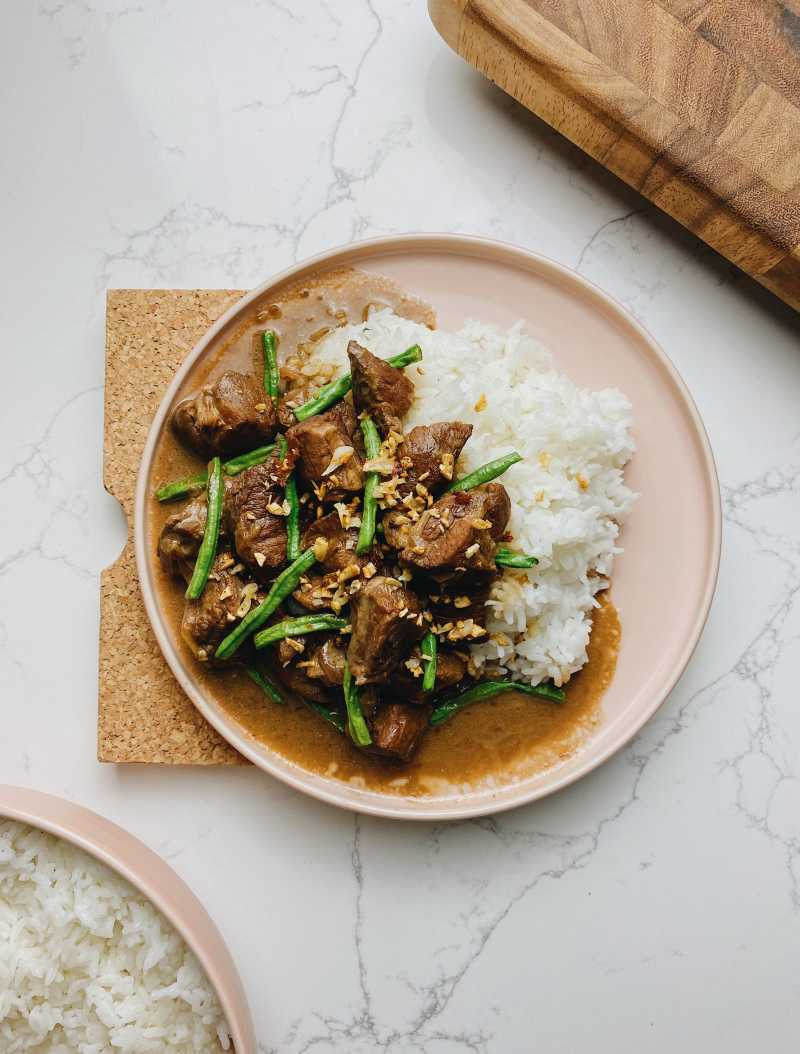 Coconut + Pork Adobo