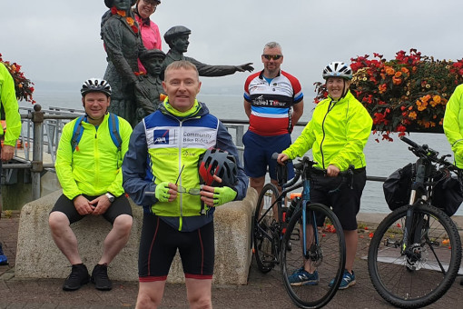 AXA Community Bike Rides Leader - Mark Cronin