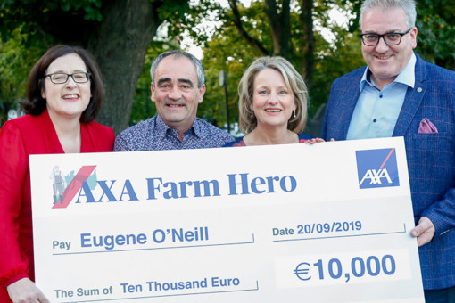 AXA Farm Hero winner