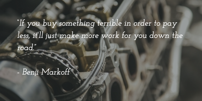 Benji Markoff quote