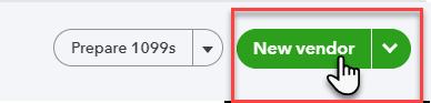 """New vendor"" button"