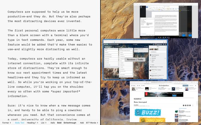 side-by-side apps in macOS