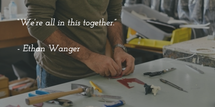Ethan Wanger quote