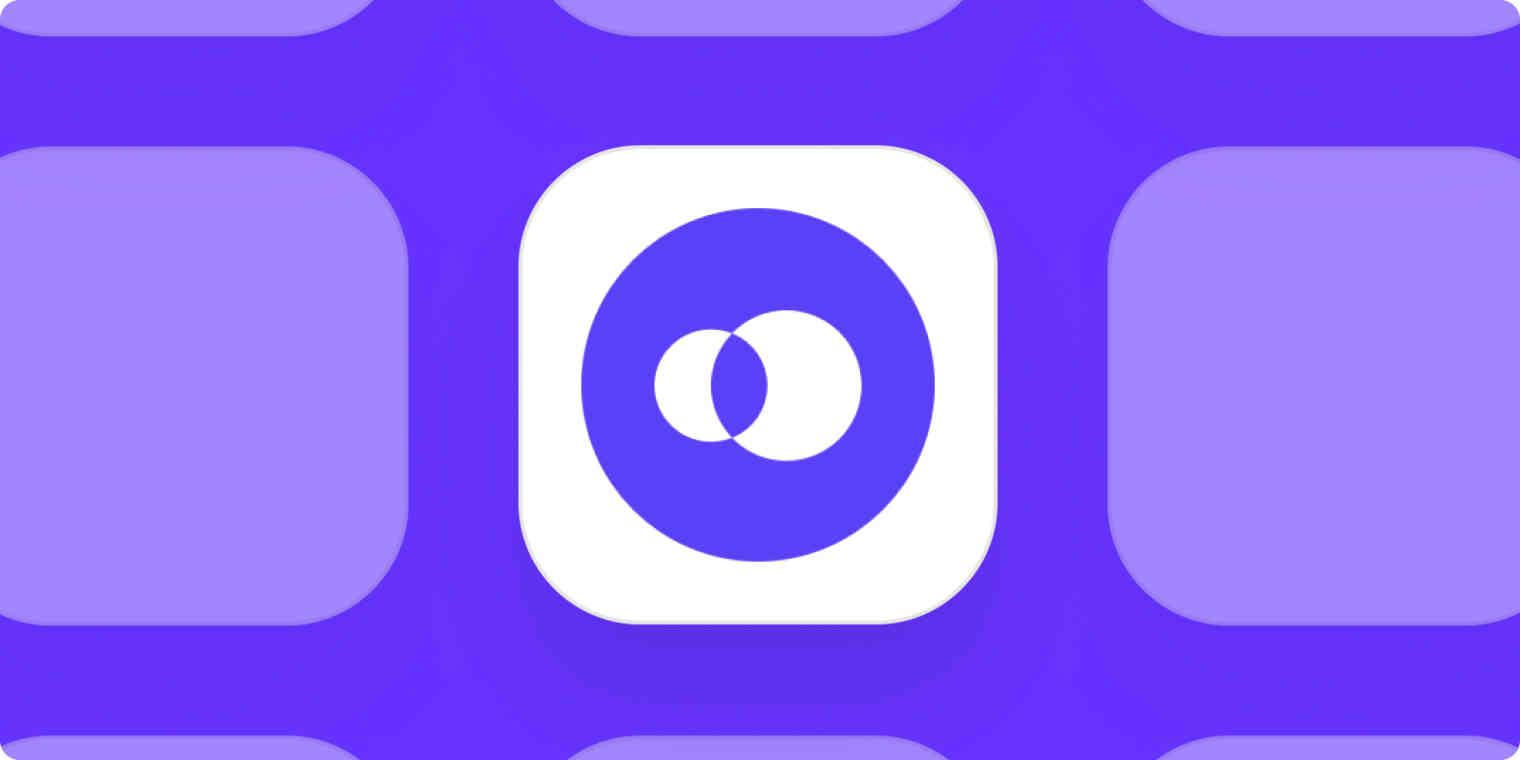 Openphone app logo on a purple background.