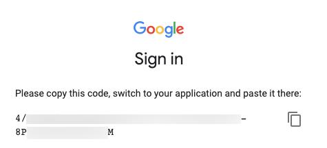 Google Analytics access code