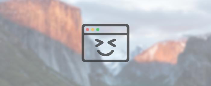 Happy Mac Screenshot Graphic