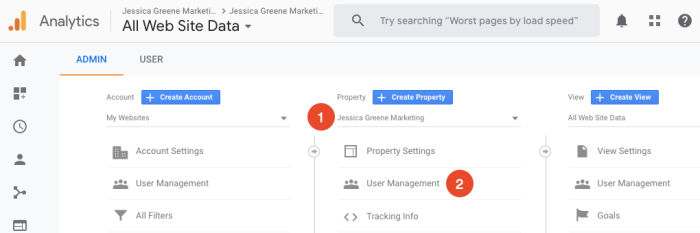 add users in google analytics