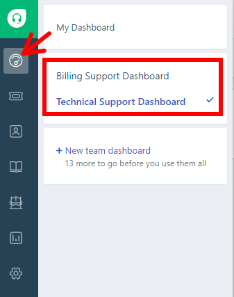 How to view Freshdesk dashboards