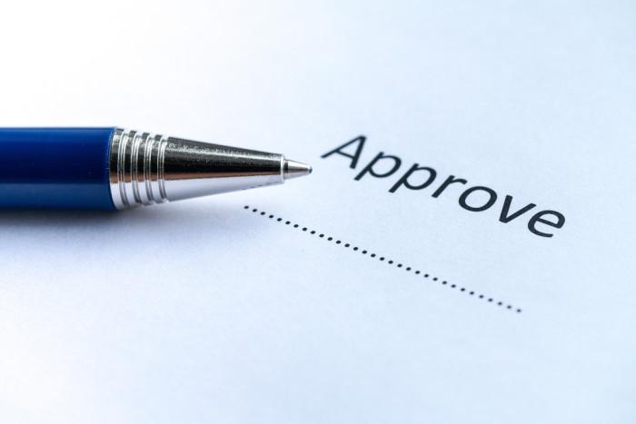 Customer case study approval form