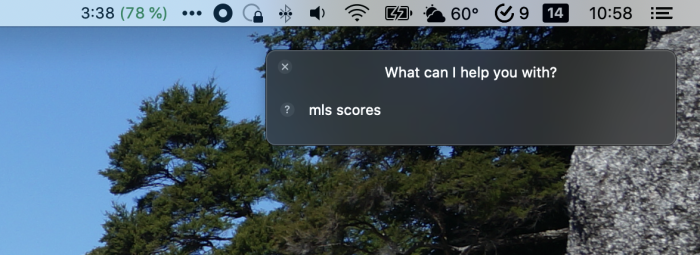 Typing to Siri on macOS
