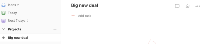 Zapier creates a new project in Todoist that corresponds with the Pipedrive deal
