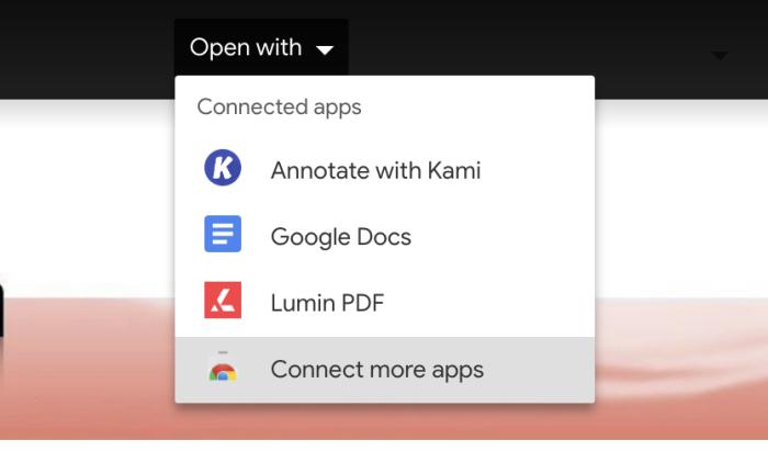 Conecta varias aplicaciones