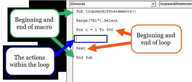 Excel Macro add loop