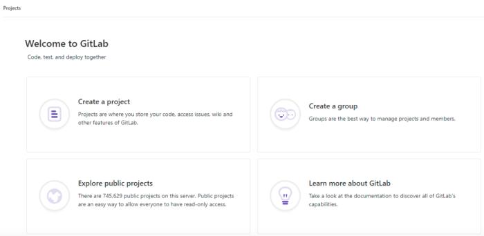 GitLab screenshot
