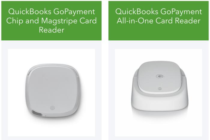 QuickBooks readers