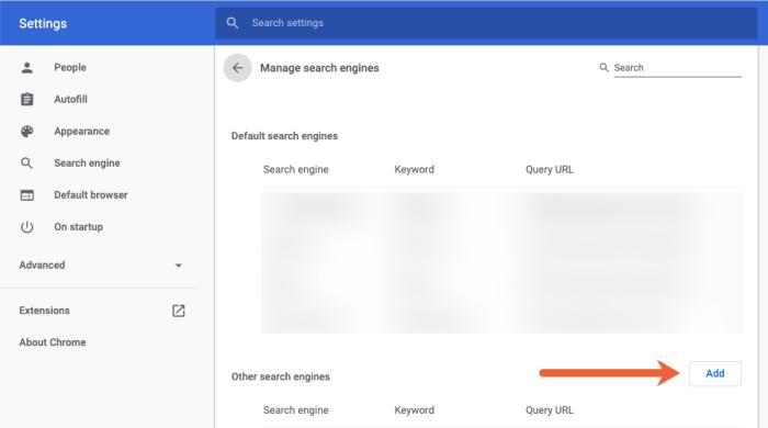 how to create shortcut keys in Chrome step three