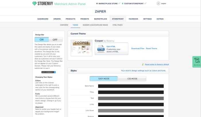 Storenvy screenshot