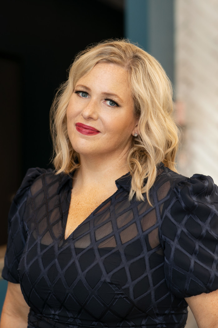 A headshot of Rebecca Miller