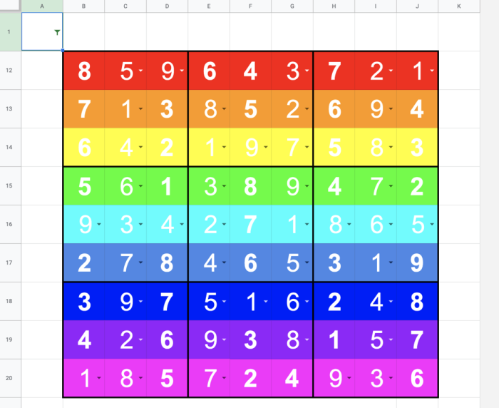 Solving the sudoku is totally worth it