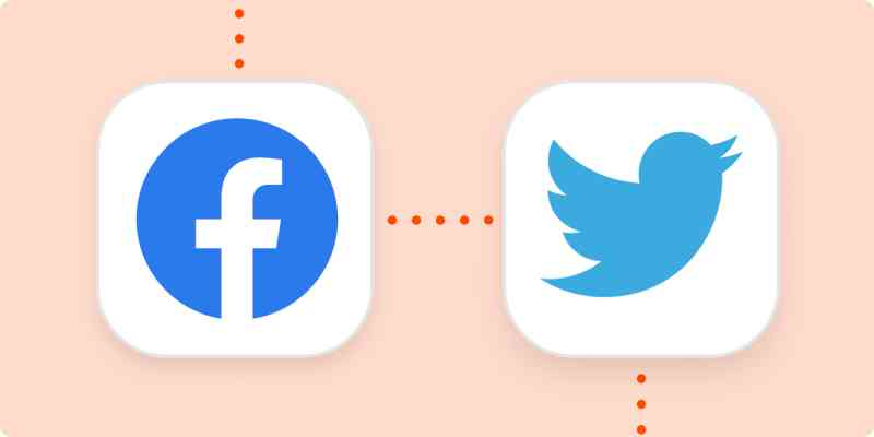 The Facebook and Twitter logos