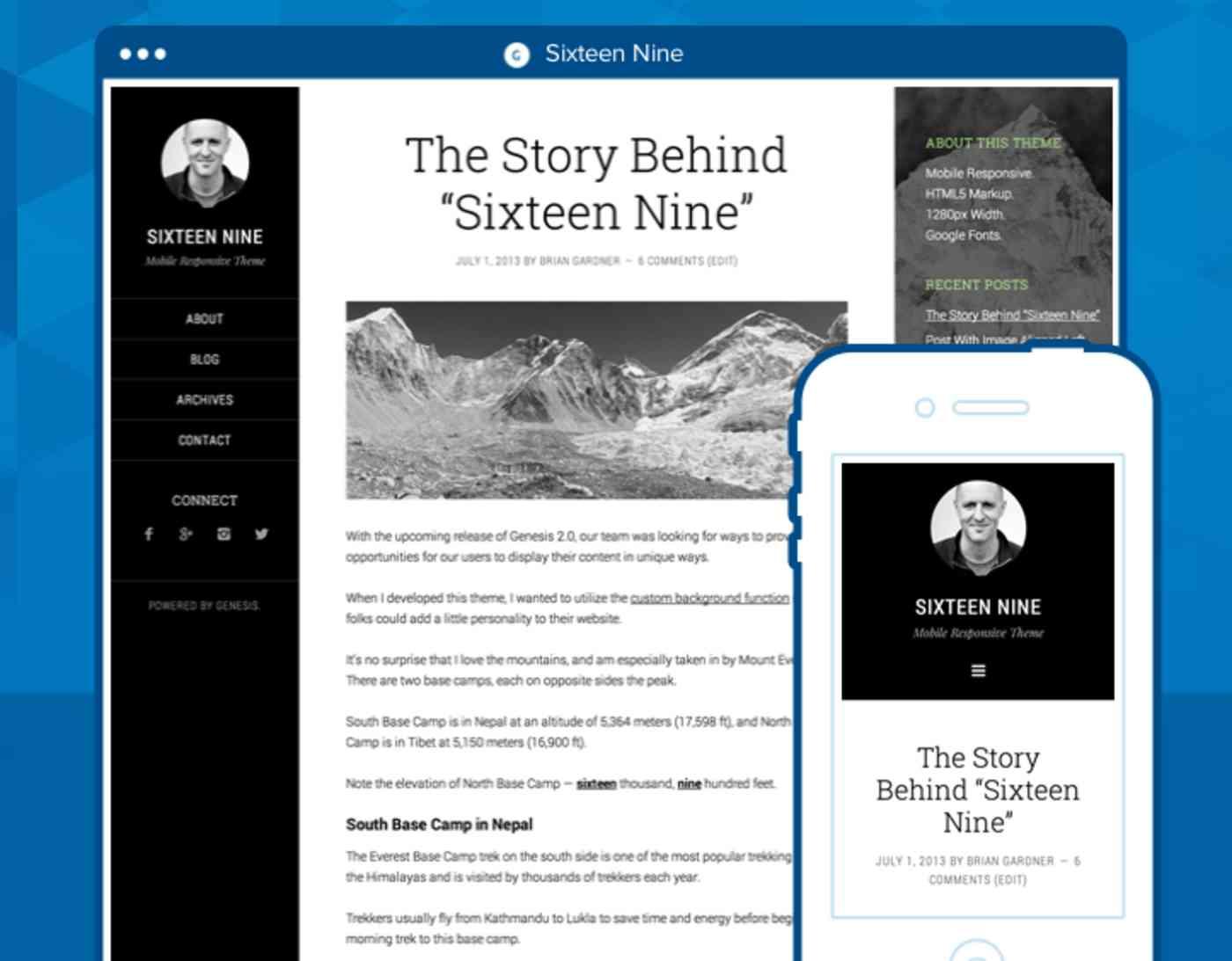 StudioPress example