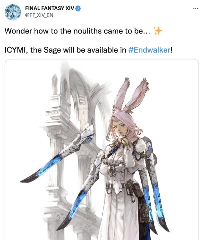 A Tweet about Sage