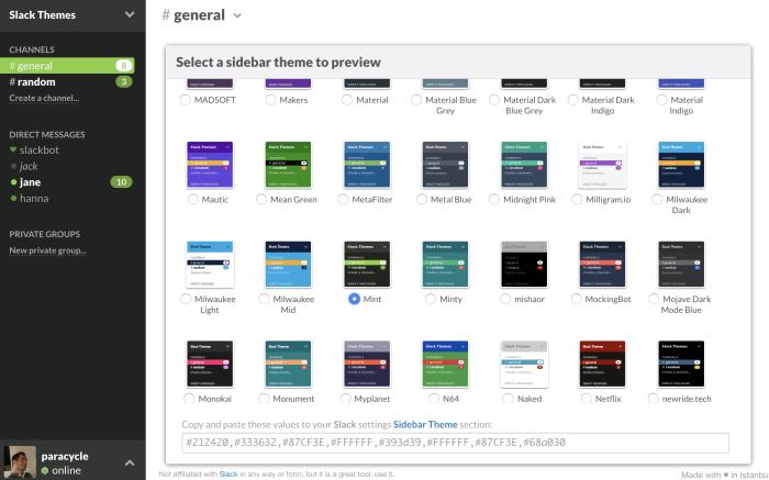 SlackThemes.net