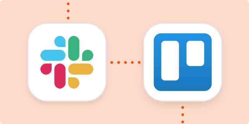 The Slack and Trello logos.
