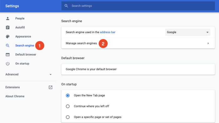 how to create shortcut keys in Chrome step two
