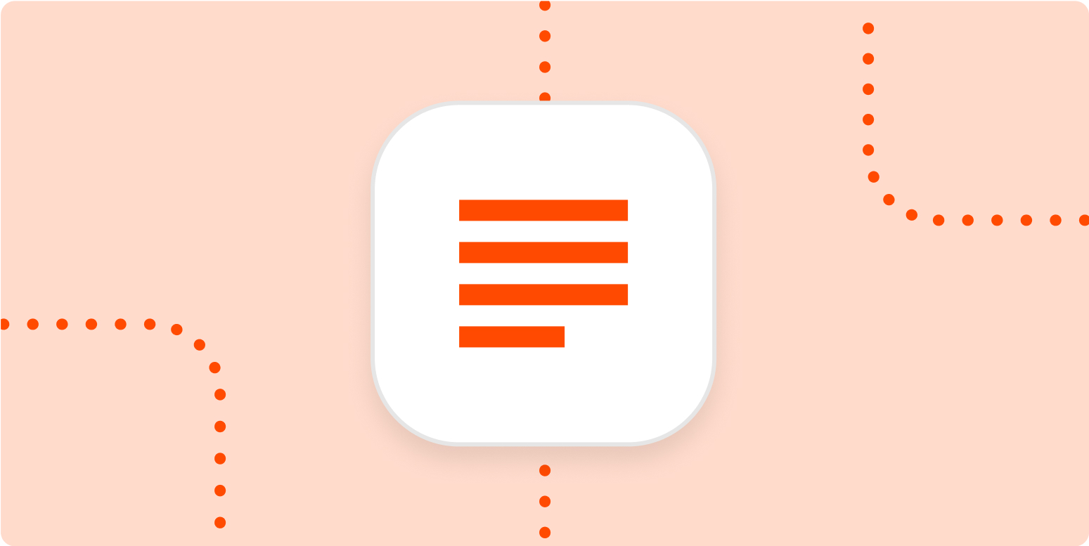 How to create effective document templates  Zapier Inside Blank Performance Profile Wheel Template