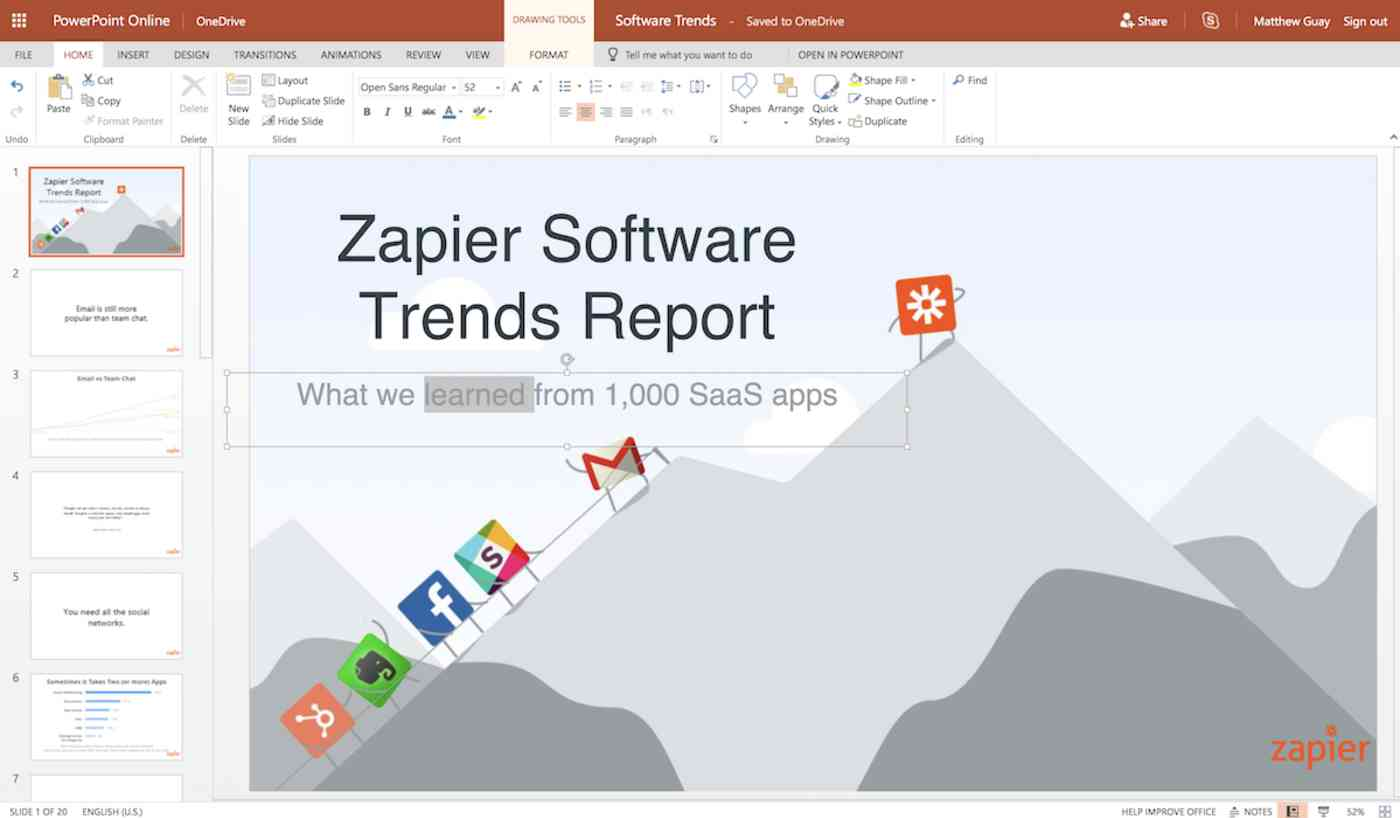 PowerPoint Online Editor