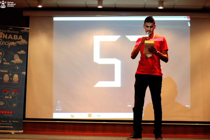Startup Weekend initial pitches