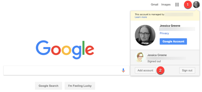 how to log into Google with multiple accounts