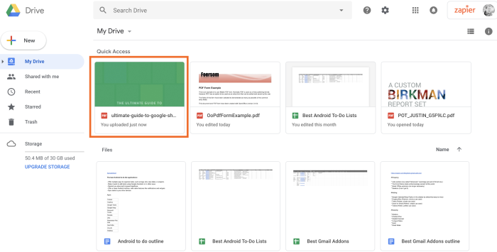 PDF de Google Drive cargado
