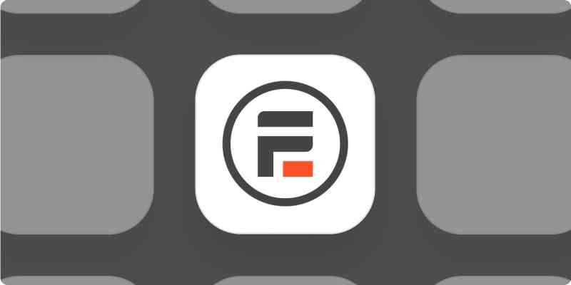Formidable Forms app logo on a gray background.