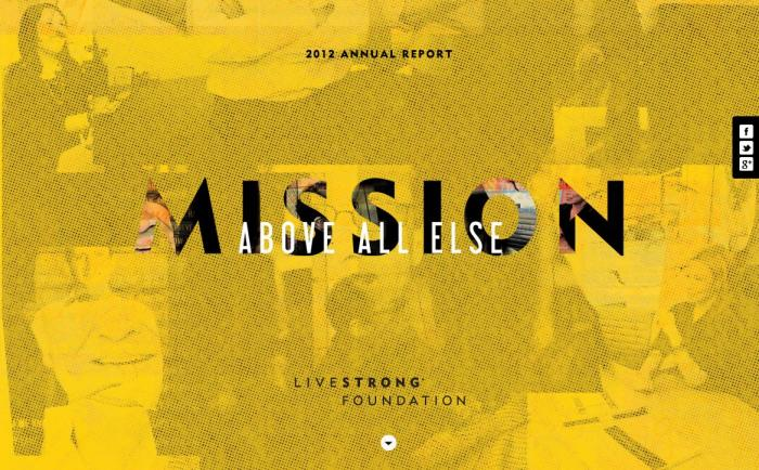 Livestrong report