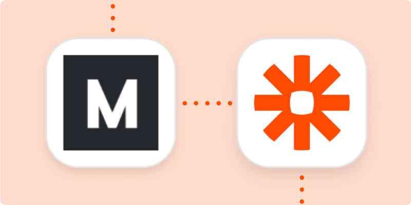 The Makerpad and Zapier logos
