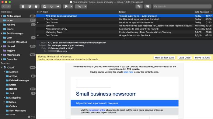 MailMate screenshot